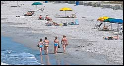 Vacationers flock to Myrtle Beach's condos and beaches each year for a warm vacation destination and fun in the sun